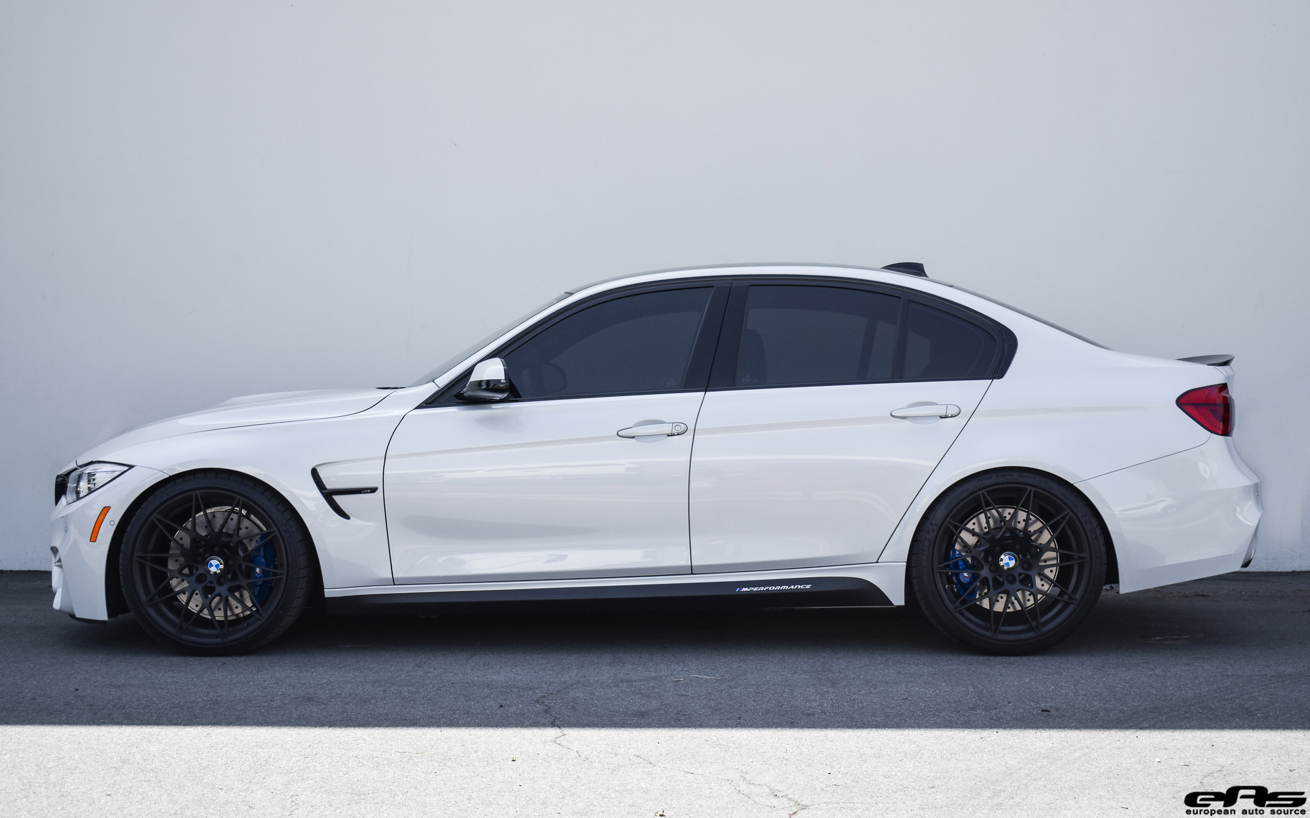 Mineral White F80 M3 Zcp Macht Schnell Spacers Springs Bmw