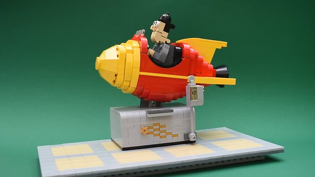Retro Space Ride - in motion.