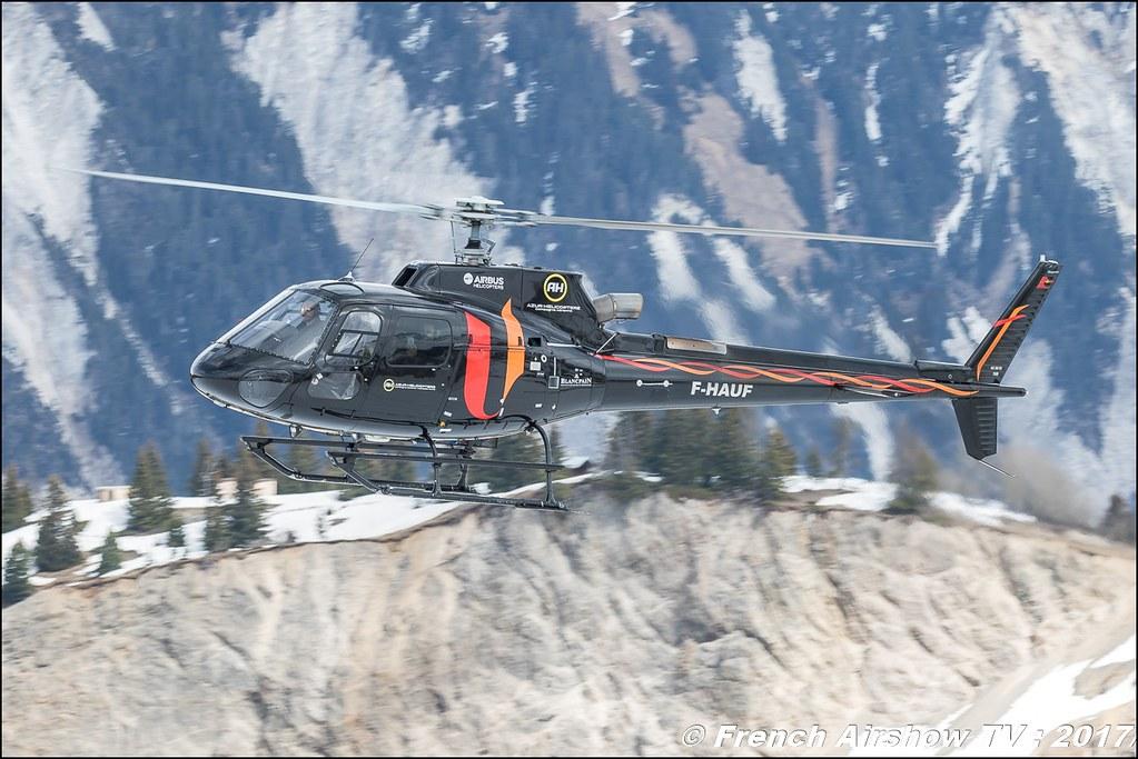 Aérospatiale AS-350 B3 Ecureuil - F-HAUF , Azur Hélicoptère SARL , Fly Courchevel 2017 , Hélico 2017