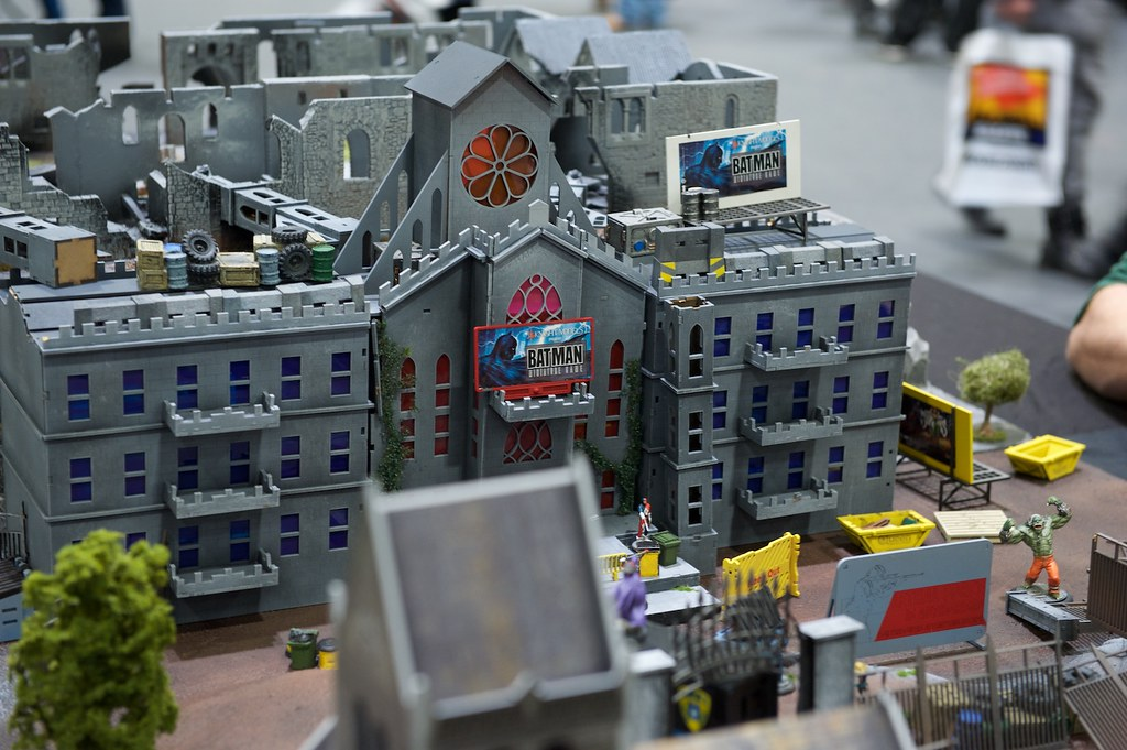 Batman Miniatures Game