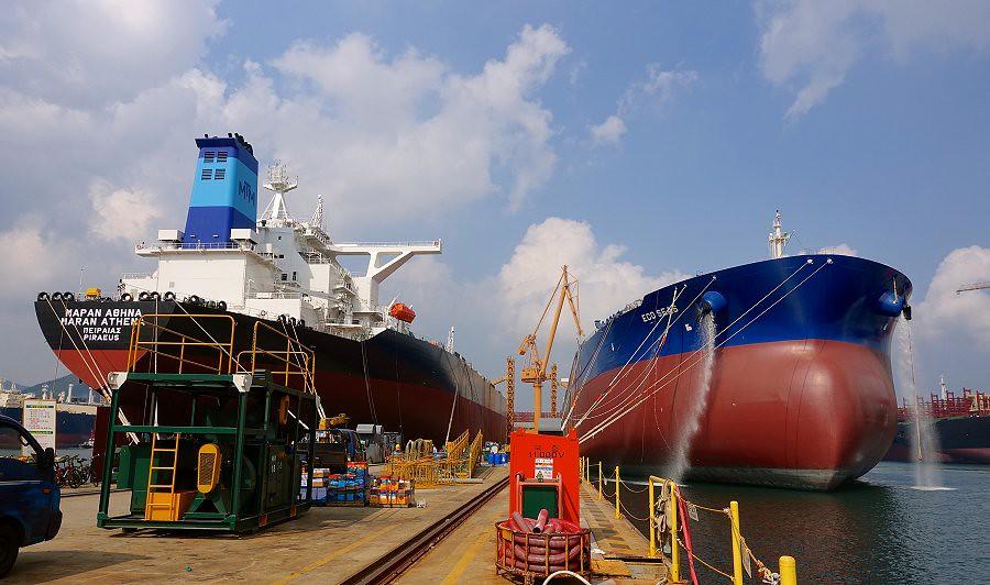 MARAN ATHENA & Eco Seas