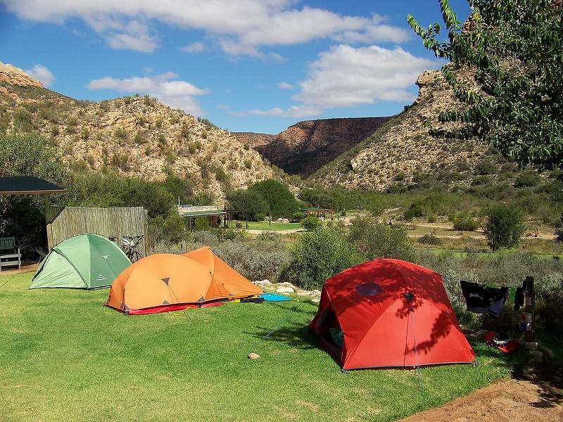 Duiwekloof tents