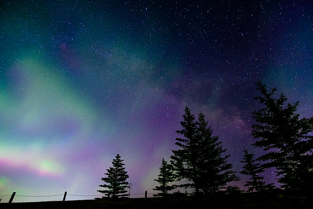 Northern Lights, Milky Way - Edit-3