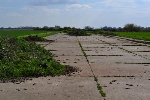 RAF Tibenham Perimeter track