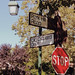 Danville street signs