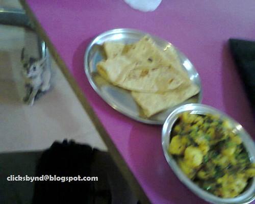 CHAPATI BHAAJI