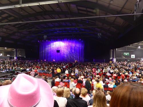Dolly Parton On Blue Smoke Tour At GE Arena Aberdeen Exhi