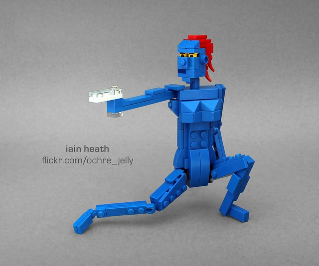 Lego Mystique Quot Mutant And Proud Quot As Seen In Th