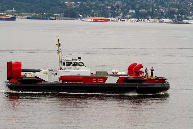 Canadian Coast Guard Moytel in the Vancouver Harbour