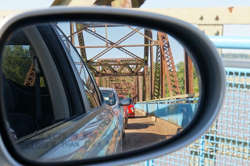 Crossing Old US 66 a Chain of Rocks Bridge | by RoadTripMemories