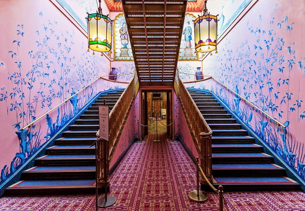 Inside The Royal Pavillion Brighton Uk The Palace Is