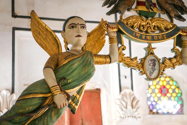 Angel in Mehrangarh Fort, Jodhpur, India ジョードプル メヘラーンガル・フォートの天使