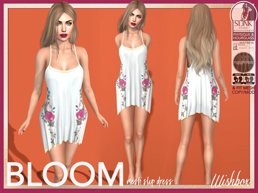 [Wishbox] Bloom (White)