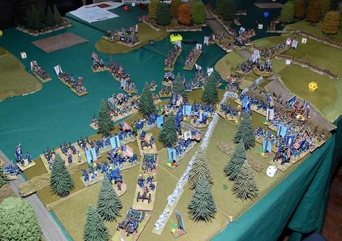 Gettysburg Game in full swing