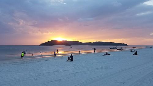 Langkawi Pantai Cenang Sunset