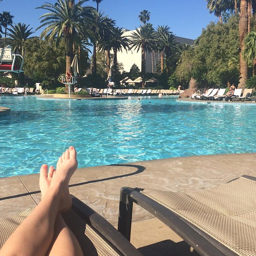Living the dream. #nofilter #instatravel #vegas