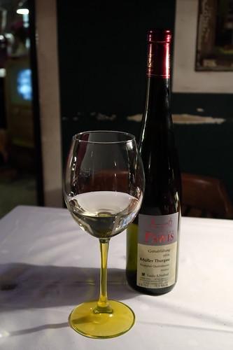 Saale-Unstrut Müller-Thurgau vom Weingut Bernard Pawis