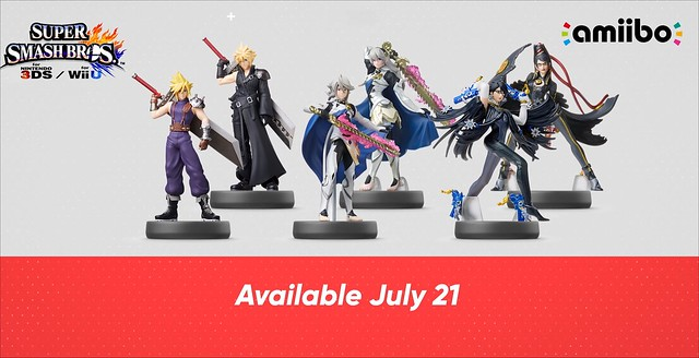 Super Smash Bros Amiibo