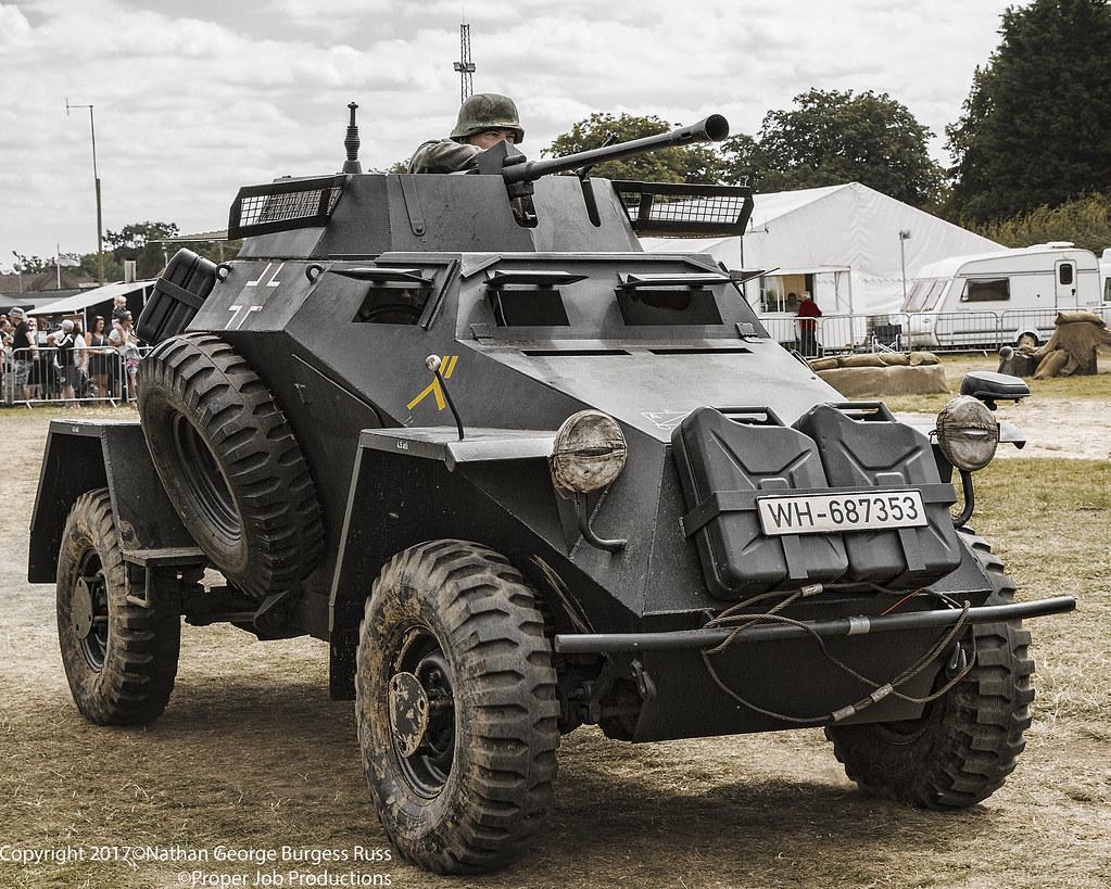 ... Leichter Panzerspähwagen Sd. Kfz. 221 (1) | by Proper Job Productions