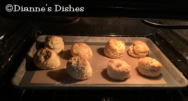 Buttermilk Biscuits: Baking