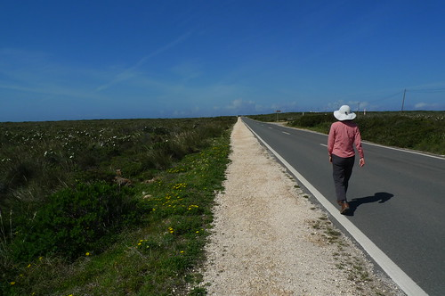 Hiking near Sagres, Portugal