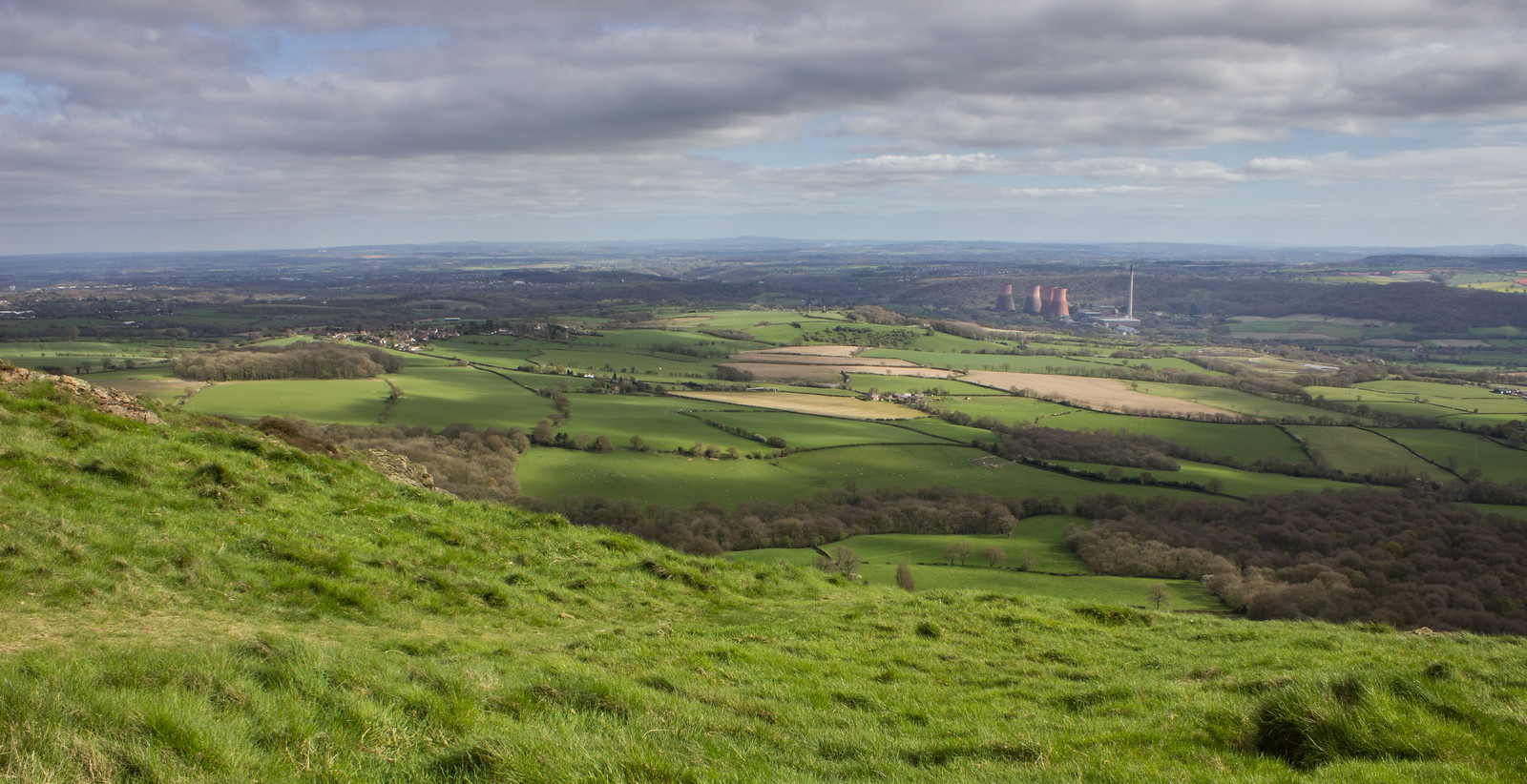 View from the top of the wrekin