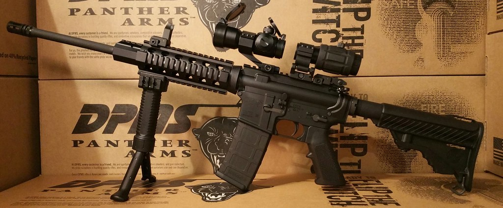 DPMS 3x Magnifier red dot
