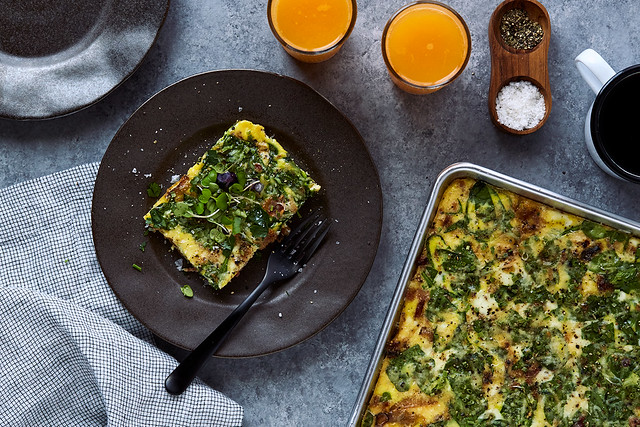 How-to Make Sheet Pan Baked Eggs