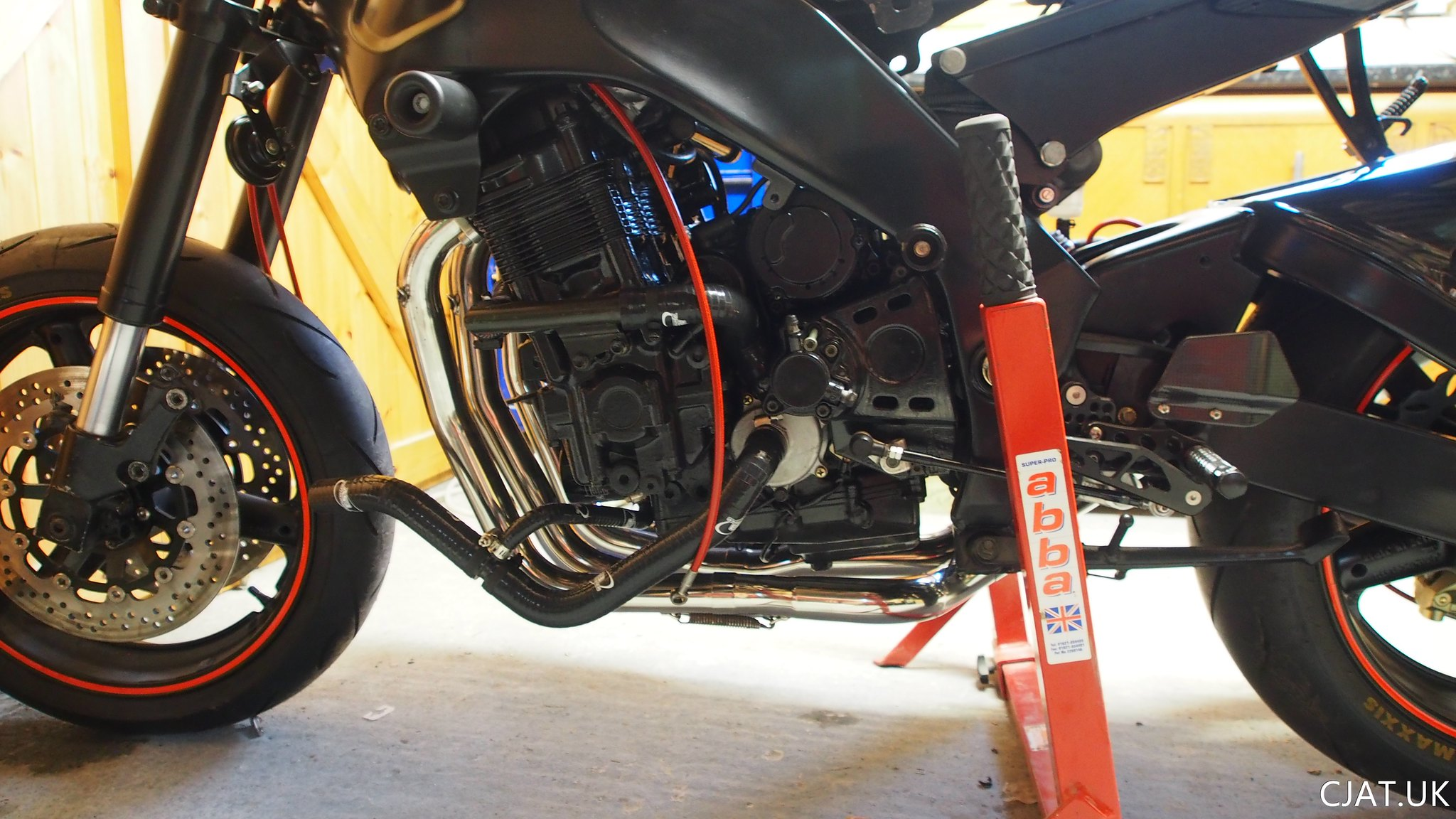 Suzuki RF900 StreetFighter parts, cooling hoses