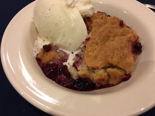 Berry Cobbler at the Inn & Spa at Cedar Falls. From 7 Family-Friendly Food Spots in and Around Hocking Hills, Ohio