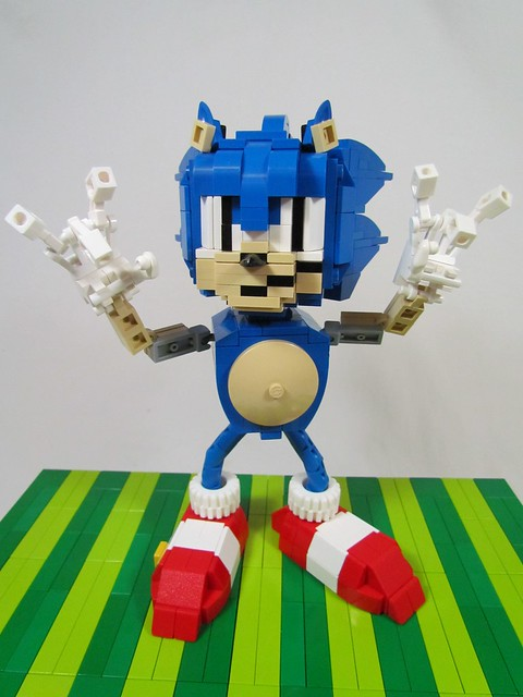 Lego Sonic The Hedgehog Flickr Photo Sharing