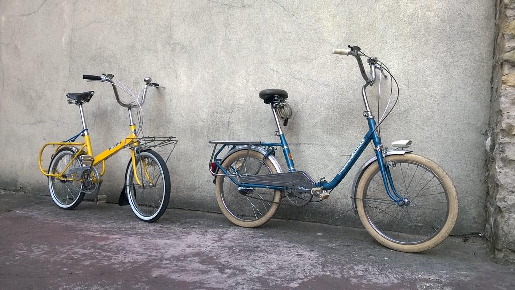 Vélos Lejeune et VéloSolex