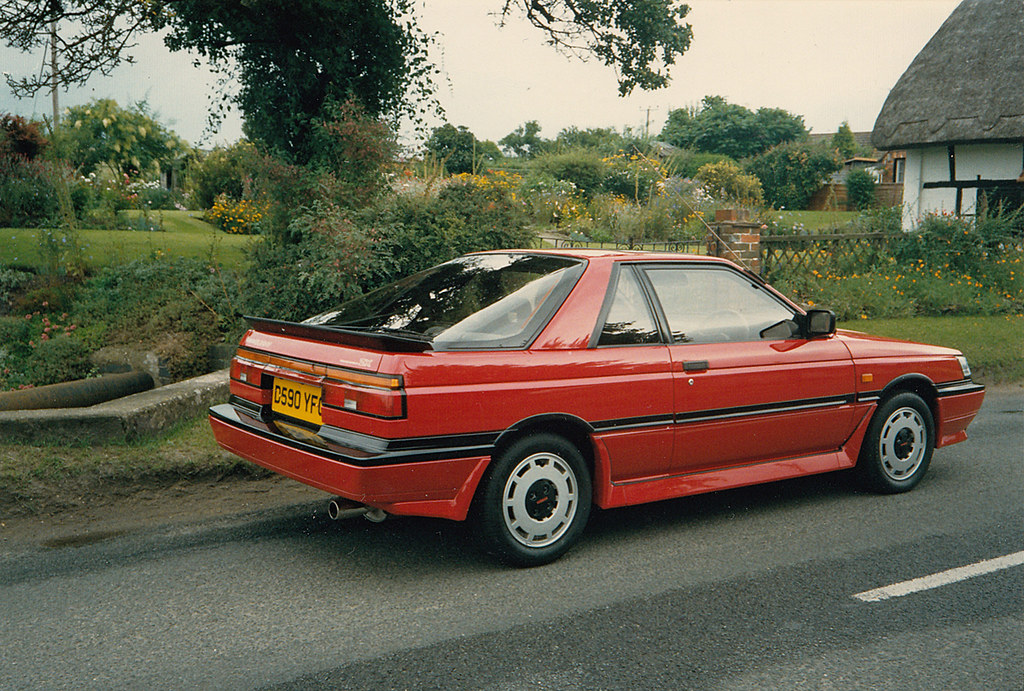 1987 Nissan Sunny ZX Coupe (B12) press photo | I reckon ...