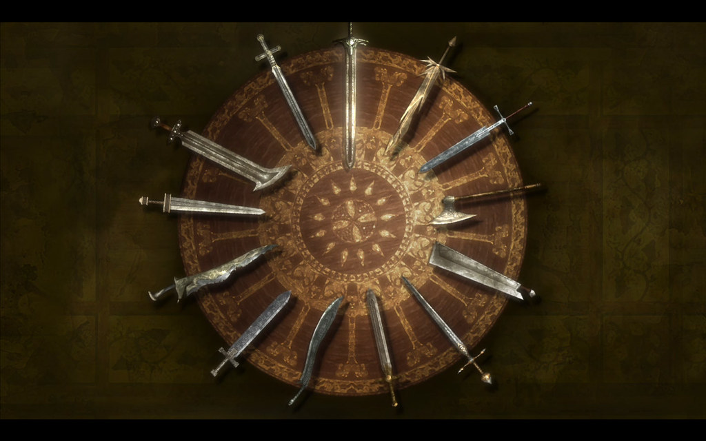 ... Wallpaper King Arthur Round Table With Swords | By Filiotheque
