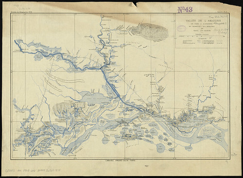 Vallée de l'Amazone de Faro a Alemquer, Rio Trombetas - Rio Ariramba | by Norman B. Leventhal Map Center at the BPL