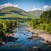 Leaving for a days walk from Bridge of Orchy, Scotland