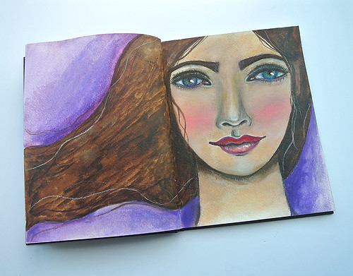 Another-mixed-media-girl-in-my-art-journal