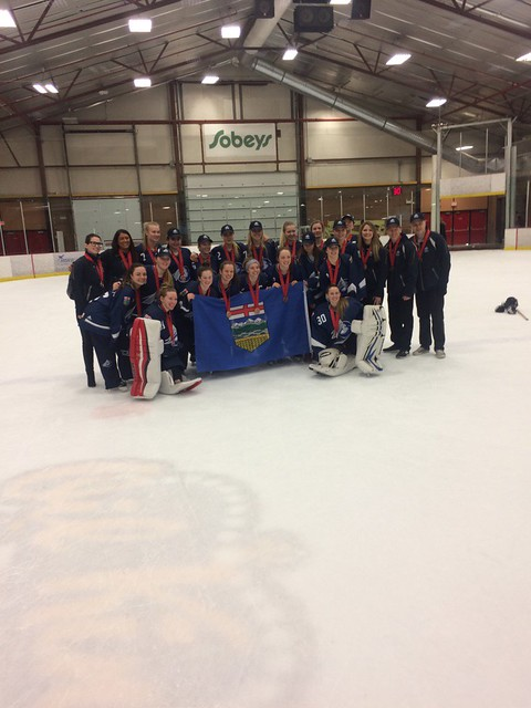 Apr 1, 2017 - CRCs Leduc - U19AA Team AB wins Bronze