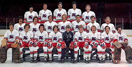 1976-77 Birmingham Bulls team