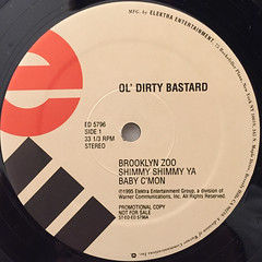 OL'DIRTY BASTARD:RETURN TO THE 36 CHAMBERS; THE DIRTY VERSION(LABEL SIDE-A)