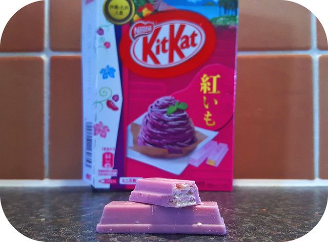 Japanese KitKat - Purple Sweet Potato