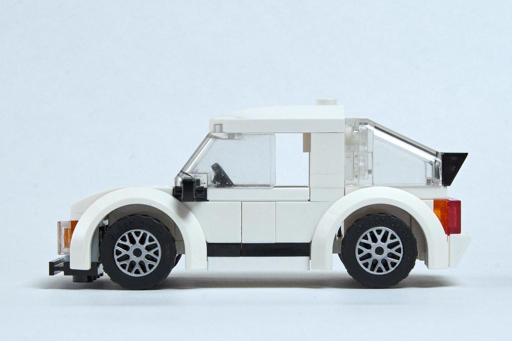 Honda Civic Inspired Lego Hatchback Side