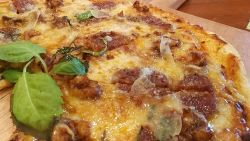 DavaoFoodTripS.com | Shrimp and Chorizo Pizza - Sundays Modern Home Cooking at Go Hotels Lanang Davao