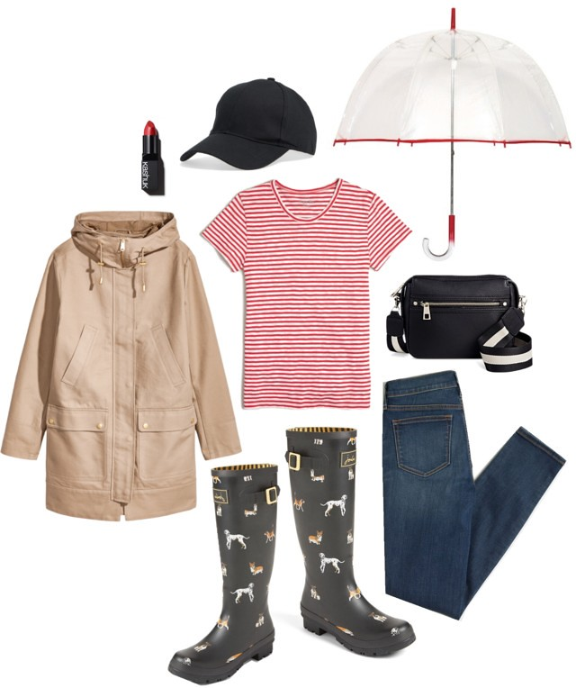 What I Wish I Wore, Vol. 178 - April Showers | Style On Target blog