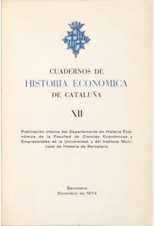 Cuadernos de Historia Economica de Cataluña
