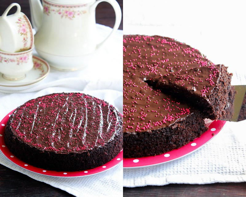 Dark Chocolate & Beet Cake