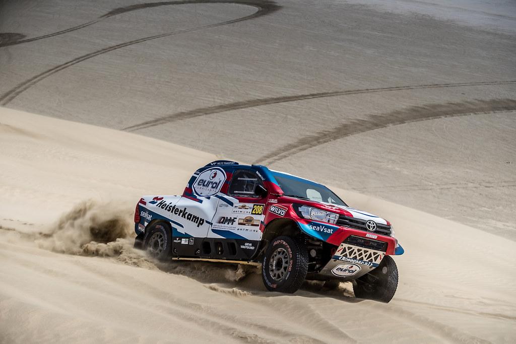 Mindere dag in Qatar zet Van Loon net buiten de top vijf