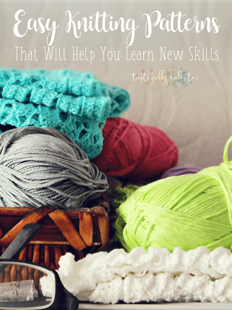 Easy Knitting Patterns That Will Help You Learn New Skills ...