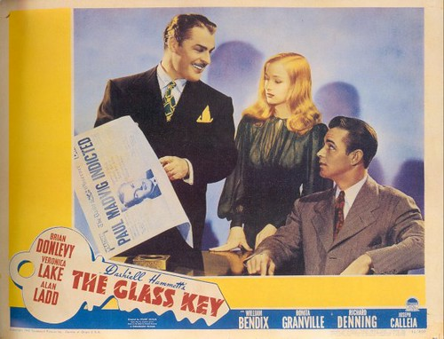 The Glass Key - lobbycard 3