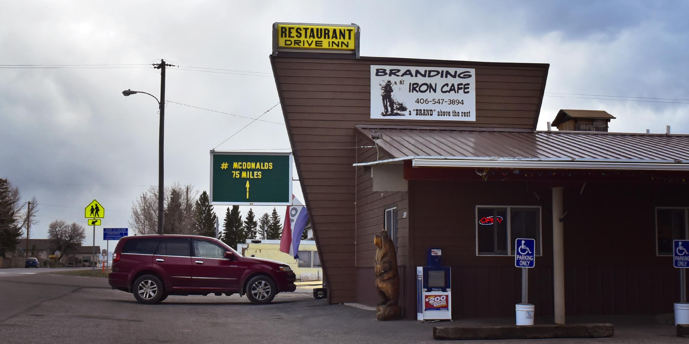 Located near downtown White Sulphur Springs, Montana on Highway 89 in the Little Belt Mountain Range located in Meagher County.